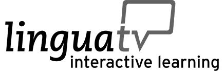 Logo Linguatv interactive Leraning: Videokurse mit Übungen zum selbstlernen, Sprachkurse & Sprachtests