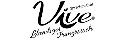Sprachangebot & Sprachtests bei der Partnerschule von Go Language Heilbronn: Logo Sprachinstitut Vive Lebendiges Französisch